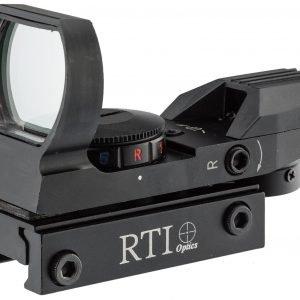 Punto rosso olografico 1x22x33 rosso o verde RTI Optics