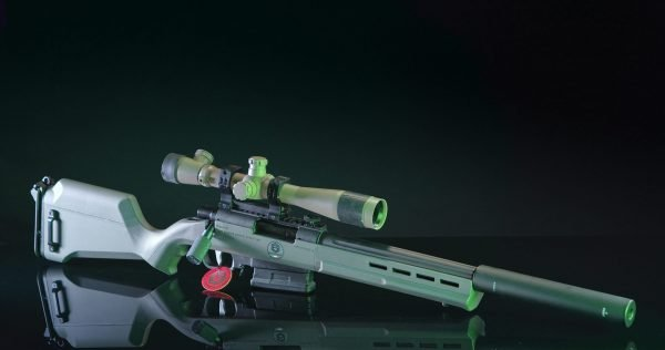 Softair Ares Striker AS02 Full custom ESCWorks OD-Green
