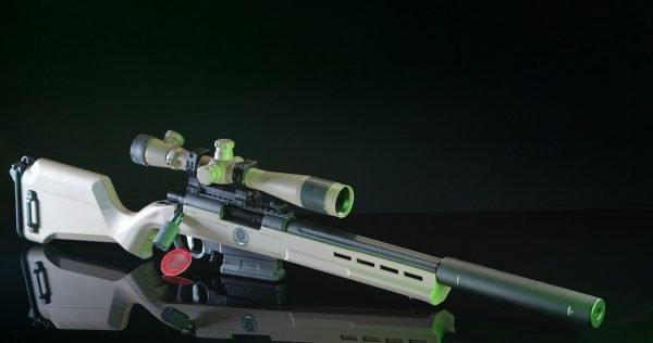 Softair Ares Striker AS02 Full custom ESCWorks TAN
