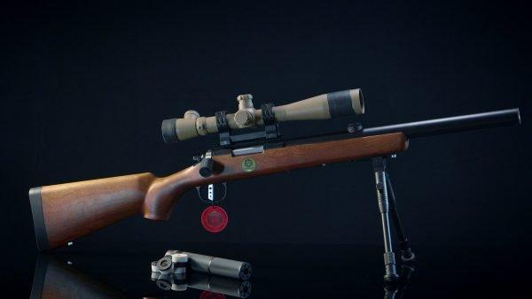 Softair VSR10 Short Version Full Custom ESCWorks Wood