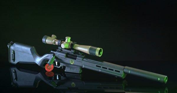 Softair Ares Striker AS02 Full custom ESCWorks BLACK