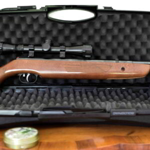Armi usate Meravigliosa Weihrauch HW 577 4.5/.177 con ottica Konus e borsa rigida