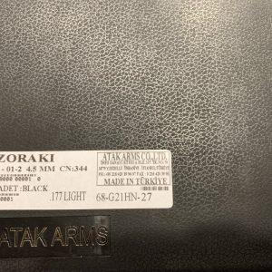 Armi usate Zoraki HP01-02 libera vendita