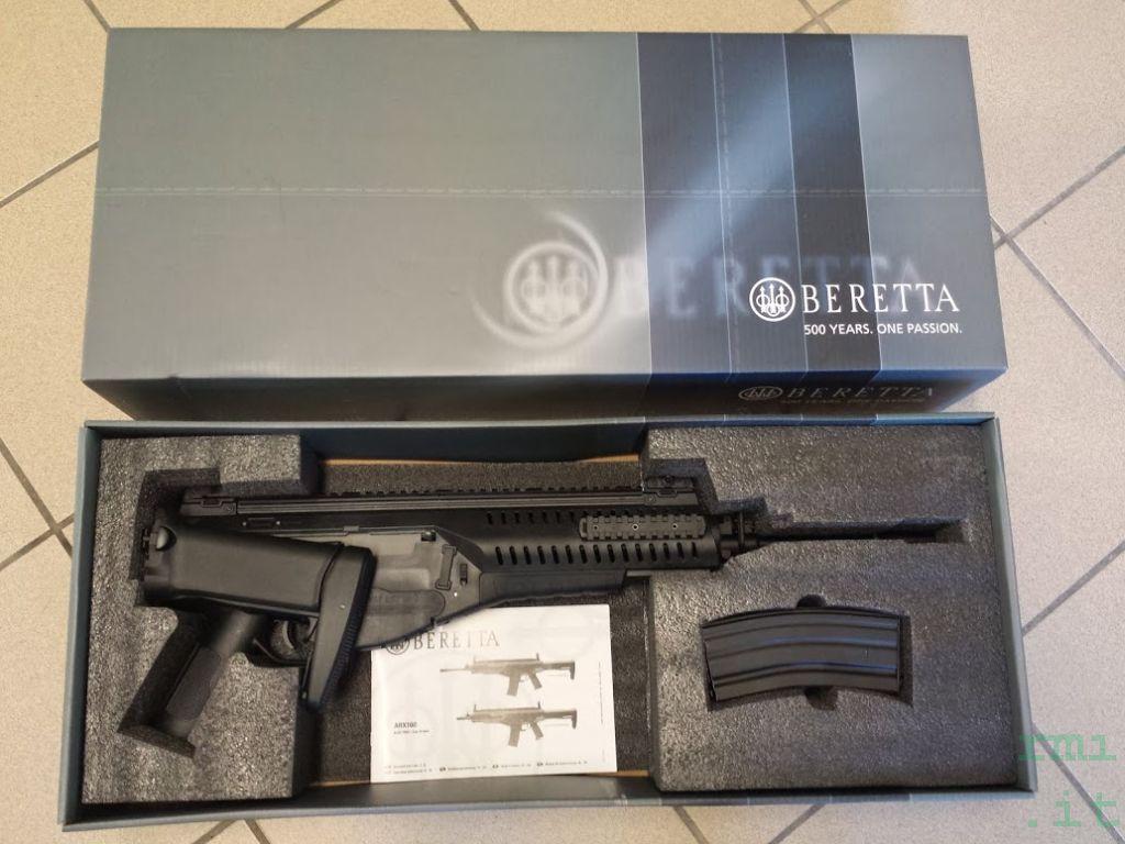 Fucile softair arx 160